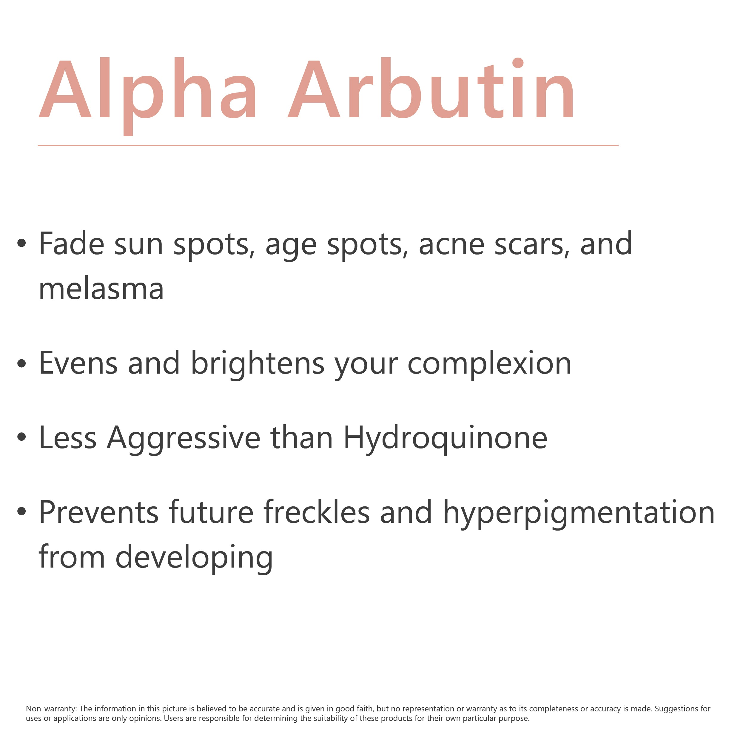 2% ALPHA ARBUTIN + HYALURONIC ACID - SKIN CLARIFYING SERUM