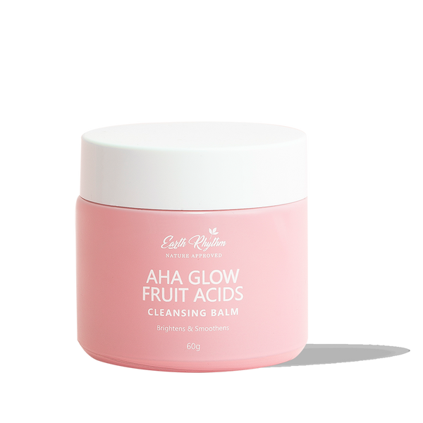 PORE REFINING CLEANSING BALM WITH NATURAL FRUIT ACIDS - AHAs - Earth Rhythm - Nature Approved