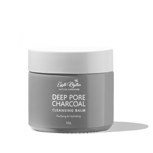 DEEP PORE CHARCOAL CLEANSING BALM - Earth Rhythm - Nature Approved