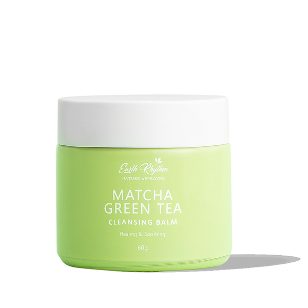 CLEANSING BALM WITH MATCHA GREEN TEA - Earth Rhythm - Nature Approved
