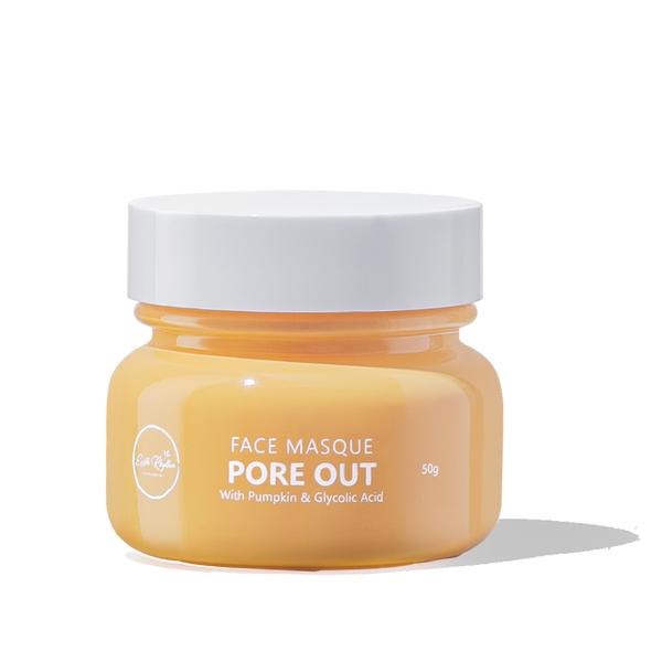 PORE OUT FACE MASQUE WITH PUMPKIN & GLYCOLIC ACID - Earth Rhythm - Nature Approved