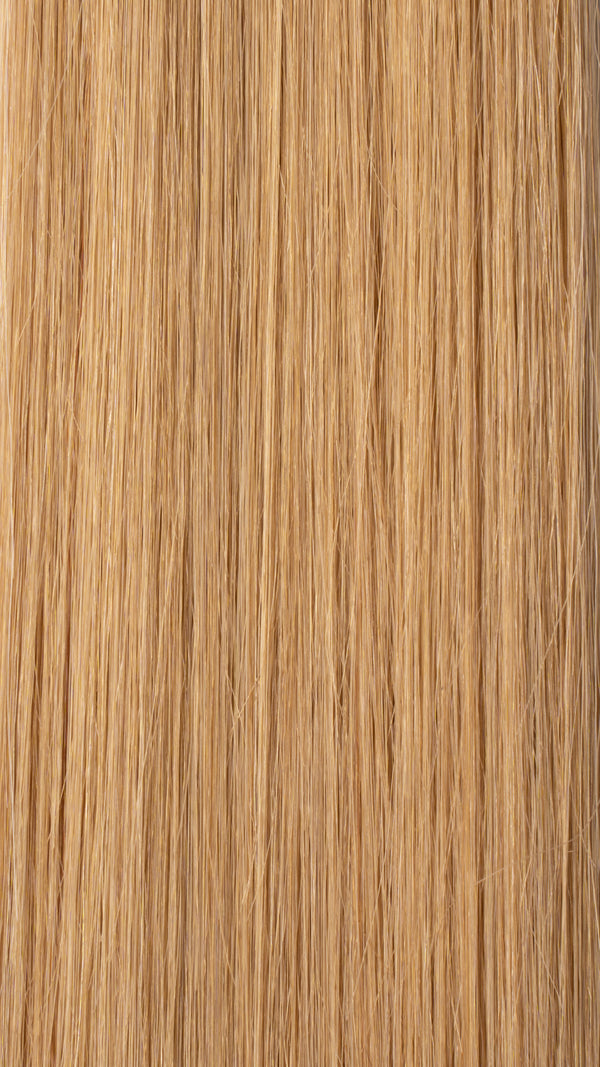 Clip In Hair Extensions: Front Volumiser #14 Beige Medium Blonde