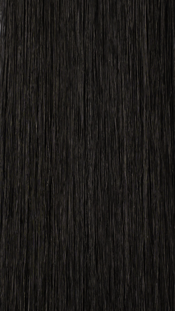 Clip In Hair Extensions: #1 Black