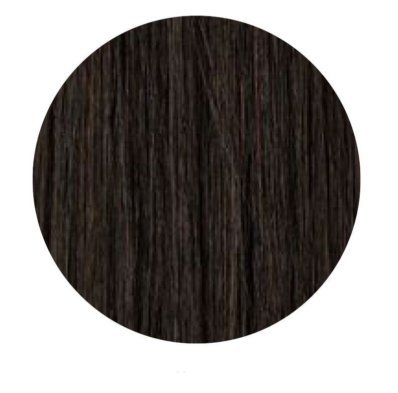 Tape Hair Extensions: #1b Darkest Brown