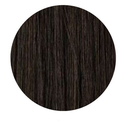 Clip In Hair Extensions: Face Framer #1B Darkest Brown