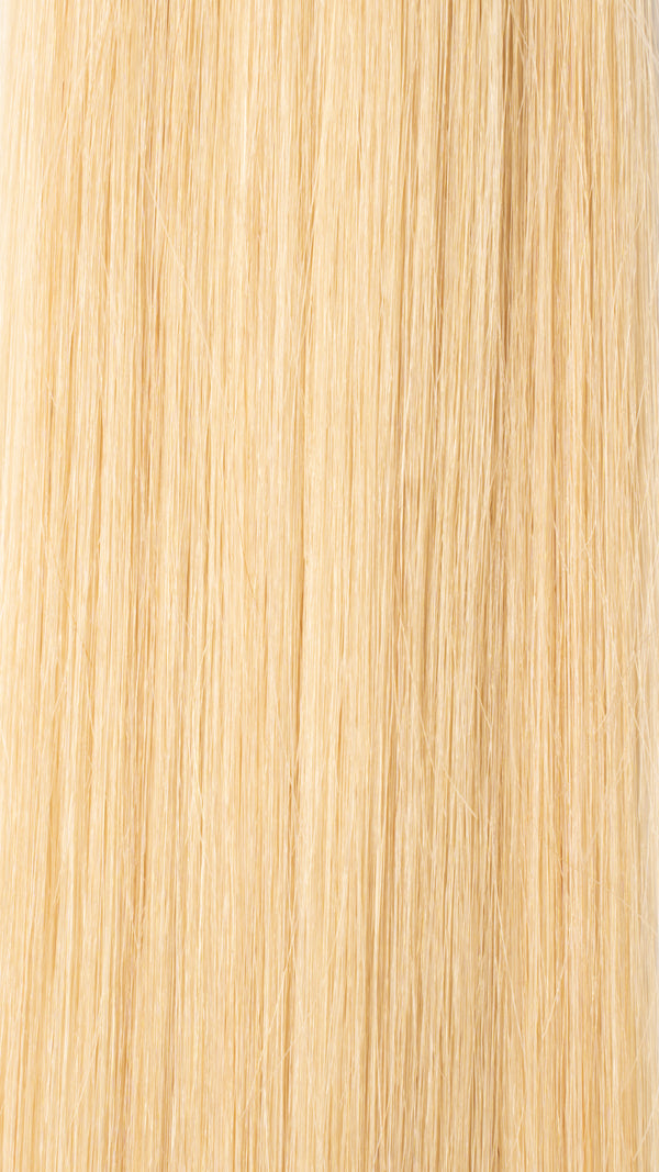 Clip In Hair Extensions: Back Volumiser #22 Creamy Blonde