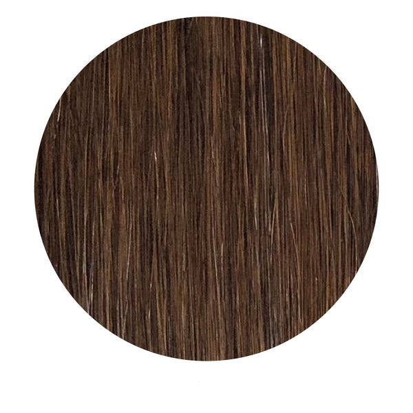 Tape Hair Extensions: #2 Dark Brown