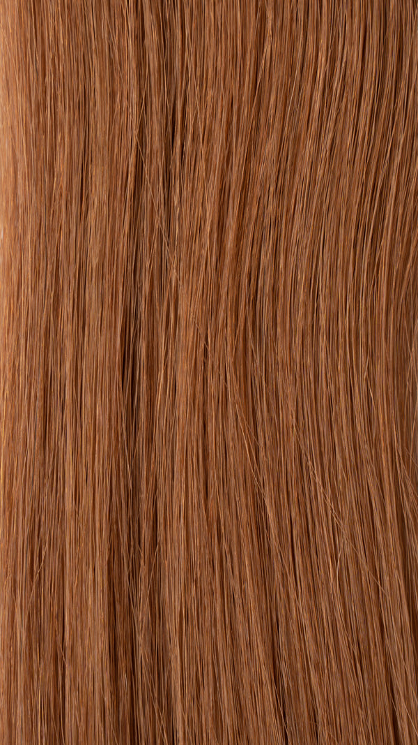Tape In Hair Extensions: #30 Medium Strawberry Blonde