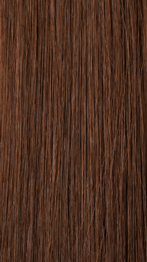 Tape In Hair Extensions: #33 Medium Chestnut