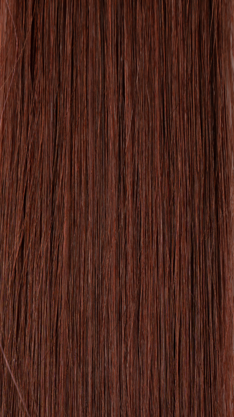 Clip In Hair Extensions: #35 Burgundy