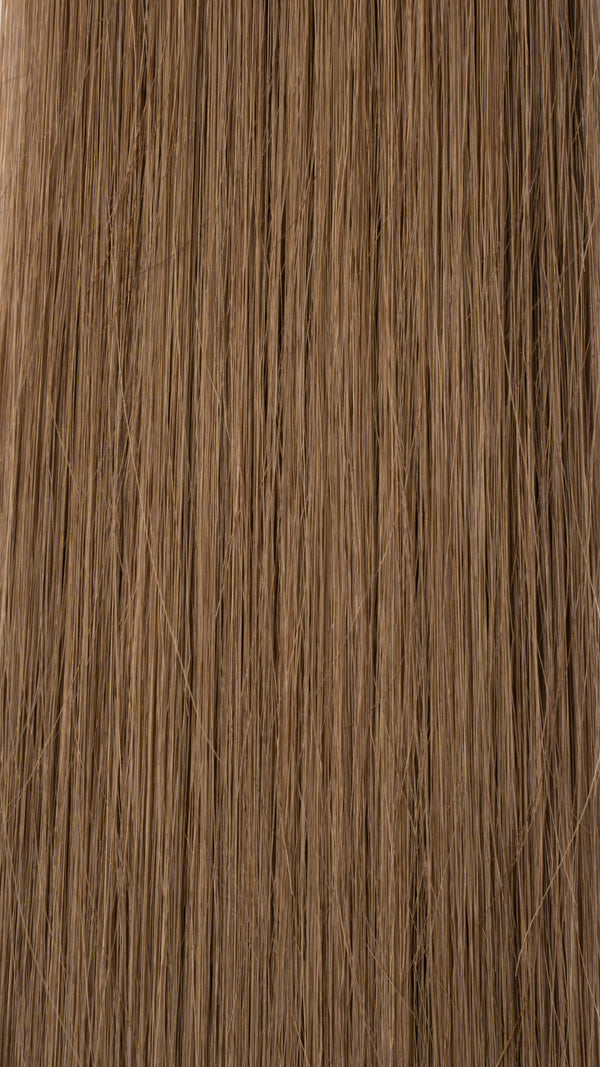 Clip In Hair Extensions: Back Volumiser #8 Light Ash Brown