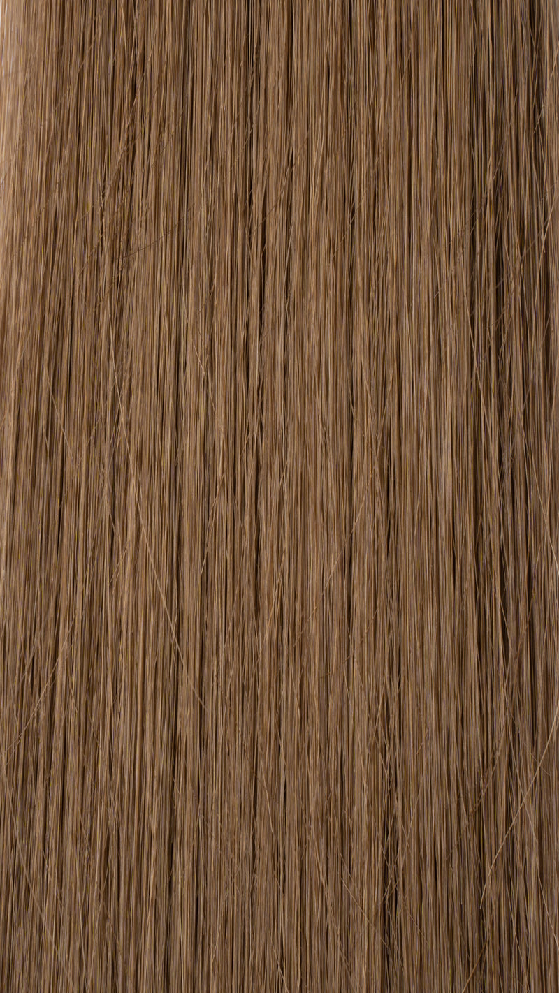 Clip In Hair Extensions: Face Framer #8 Light Ash Brown