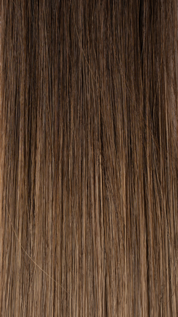 Clip In Hair Extensions: #T2 B18 Dark Balayage