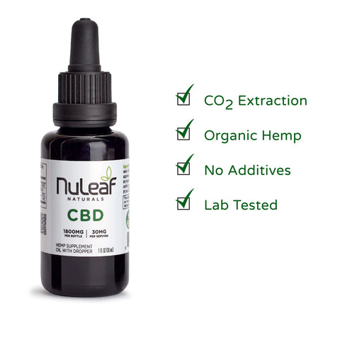 Extra Strength NuLeaf CBD Coupons