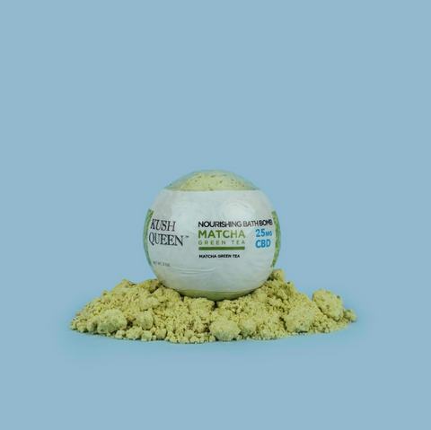 Matcha Kush Queen CBD Bath Bombs