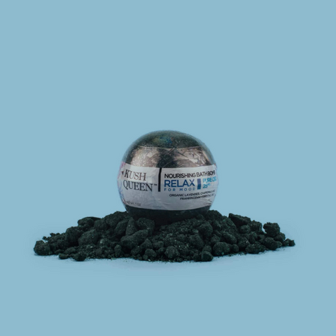 Black Magic Kush Queen CBD Bath Bombs