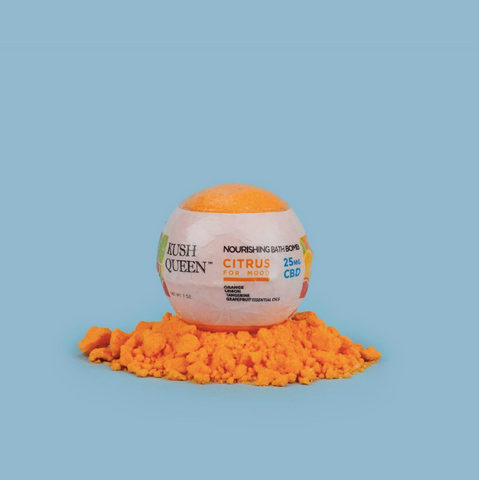 Citrus Kush Queen CBD Bath Bombs