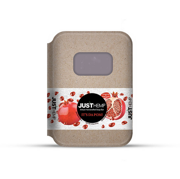 JustCBD Store Pomegranate CBD Soap