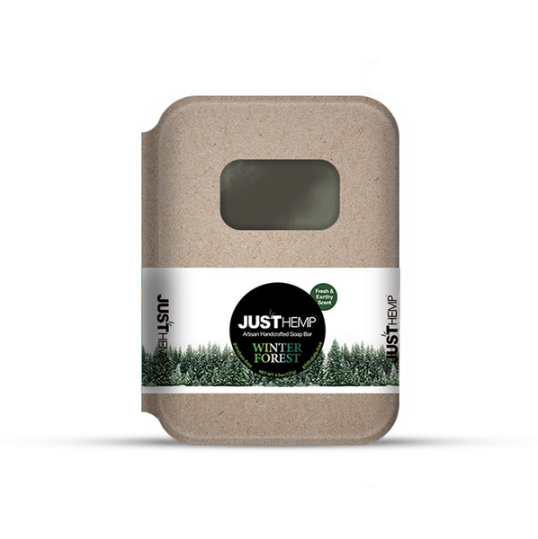 JustCBD Store Winter Forest Soap