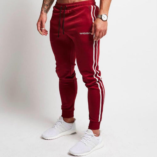 Jogger Stripes Rojo