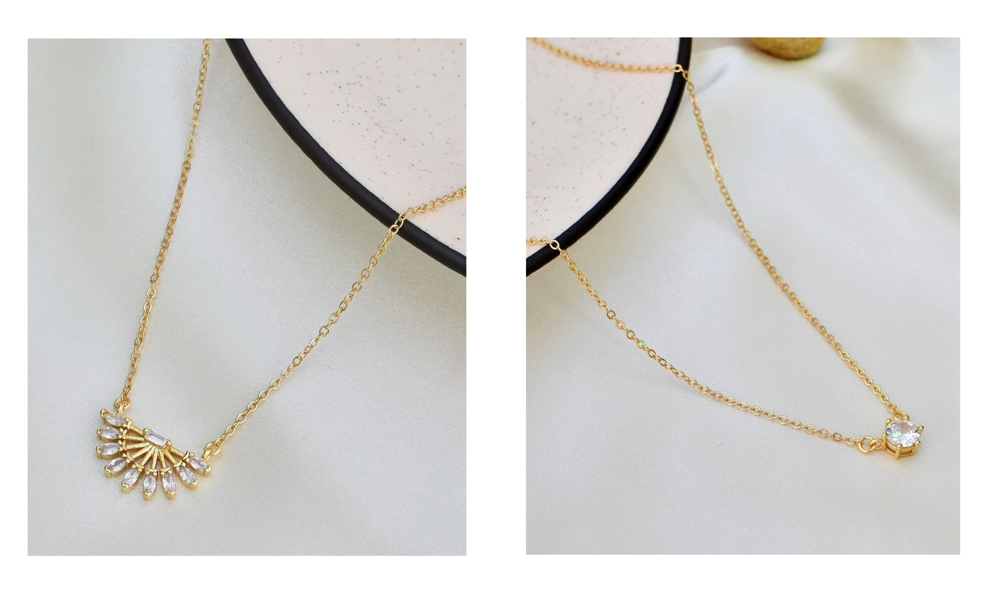 18k Gold Plated Jewellery by Klissaa