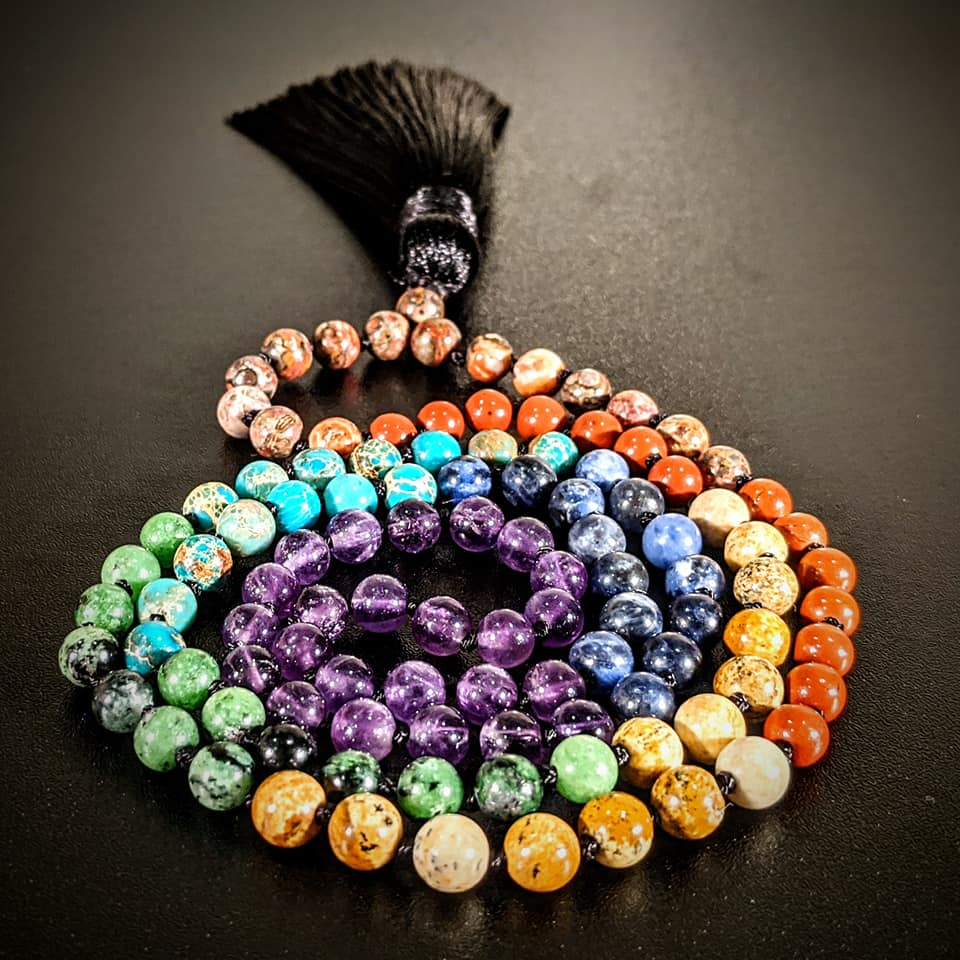 Chakra Mala Necklace - 6mm