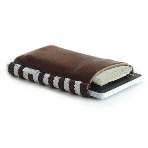 Pocket Size Brown Wallet