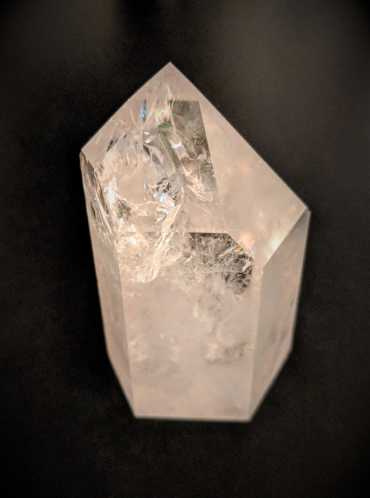 Polished  Clear Quartz Crystal Point- 3""