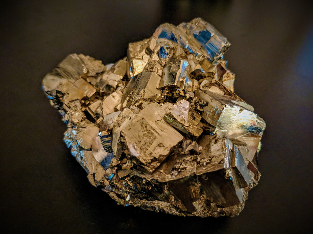 Faceted Pyrite ( High Grade ) - X-large