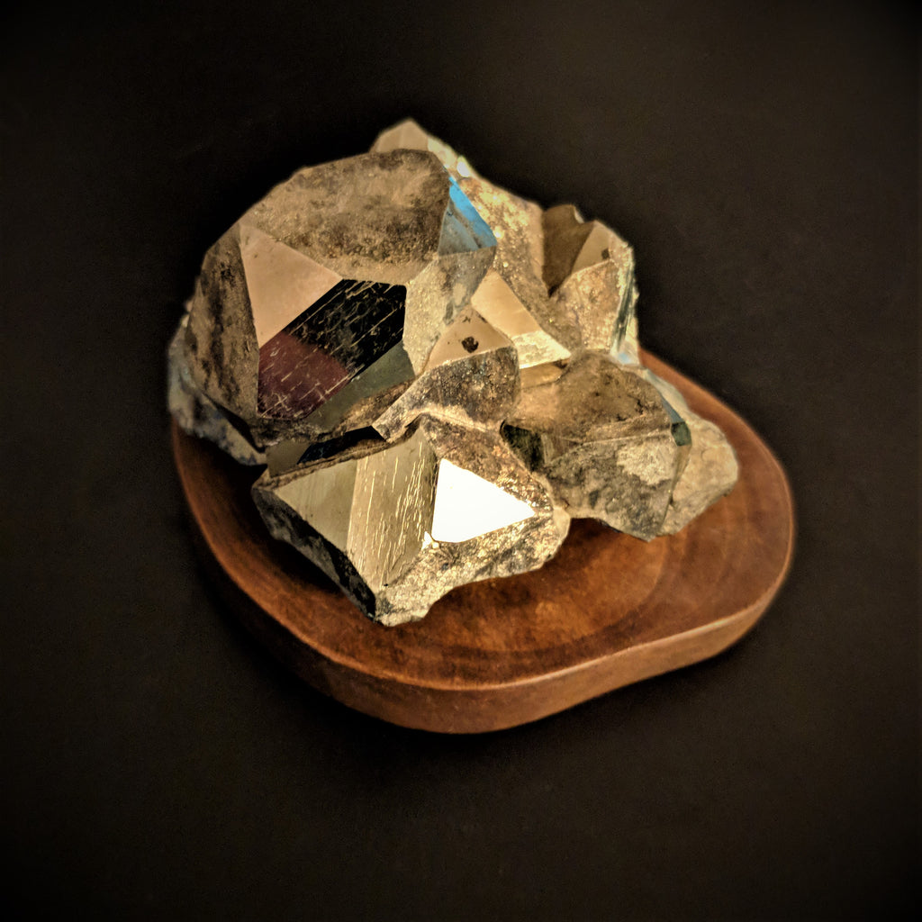 Faceted Pyrite ( High Grade ) - Medium