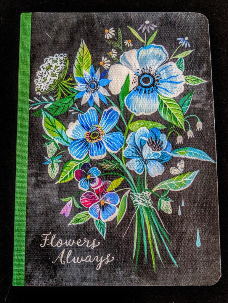 """Flowers Always"" Journal"