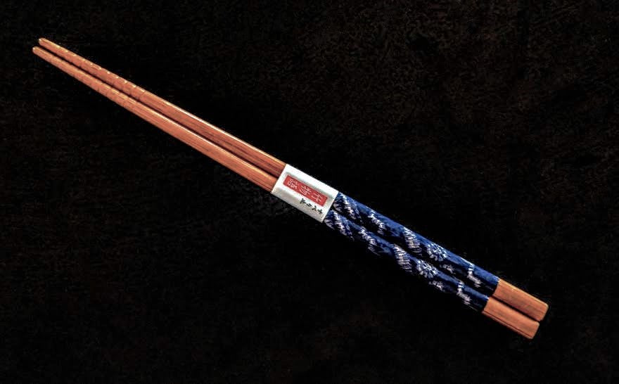 Blue Ikat- Chopsticks