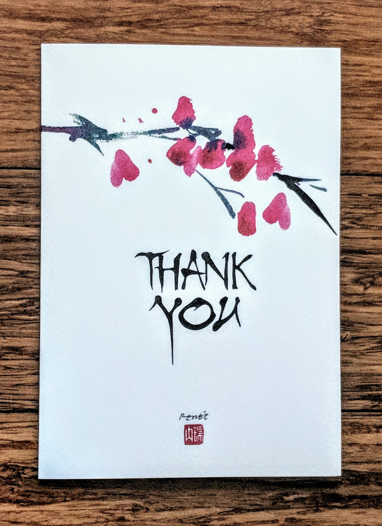 Thank You - watercolor