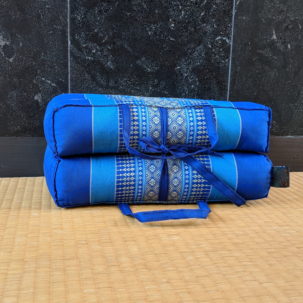 Blue Rectangular Cushion- Medium