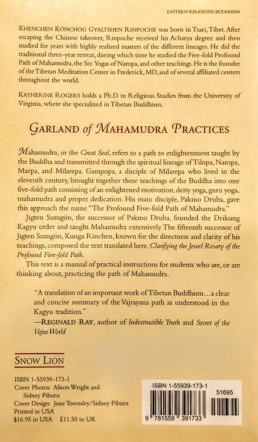 Garland of the Mahamudra