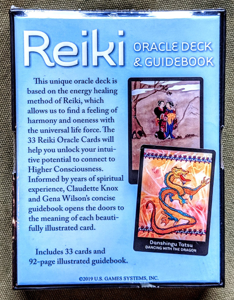 Reiki Oracle Deck & Guidebook