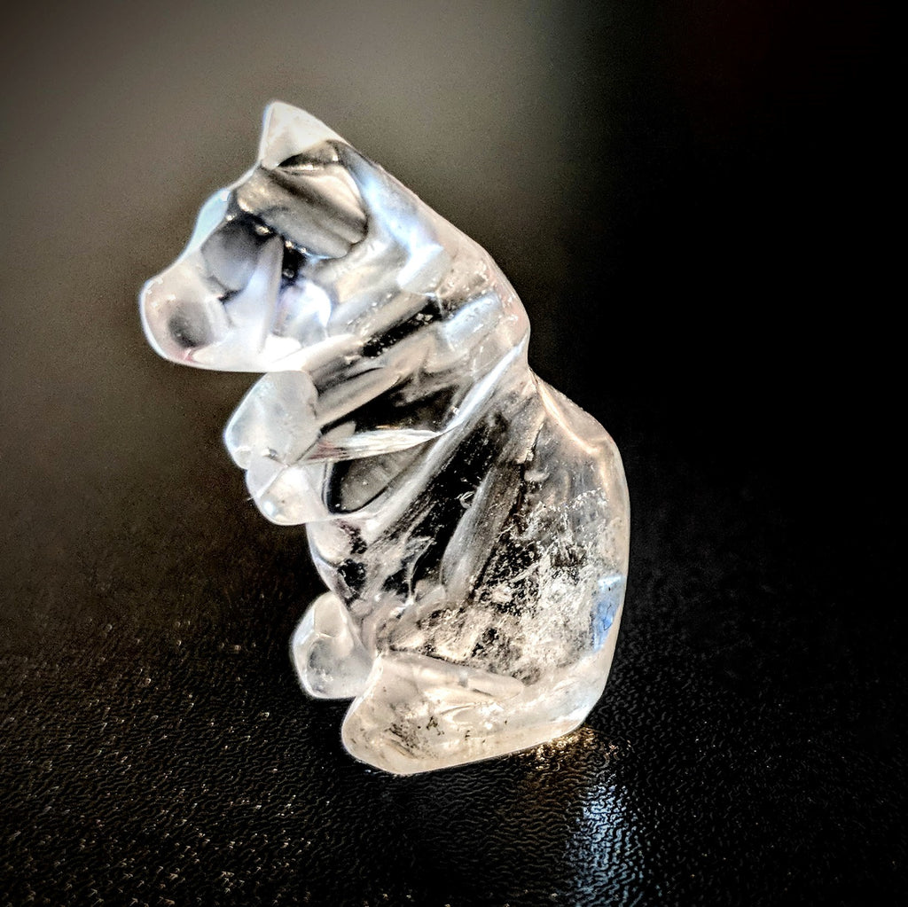Clear Quartz Miniature Bear
