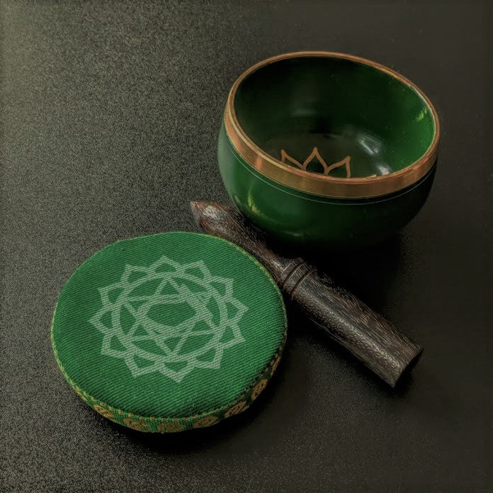 Heart (Anahata) Chakra 3' Singing Bowl - Green