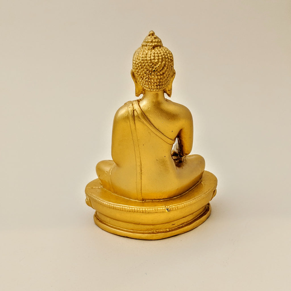 Earth Touching Buddha (Gold-color)