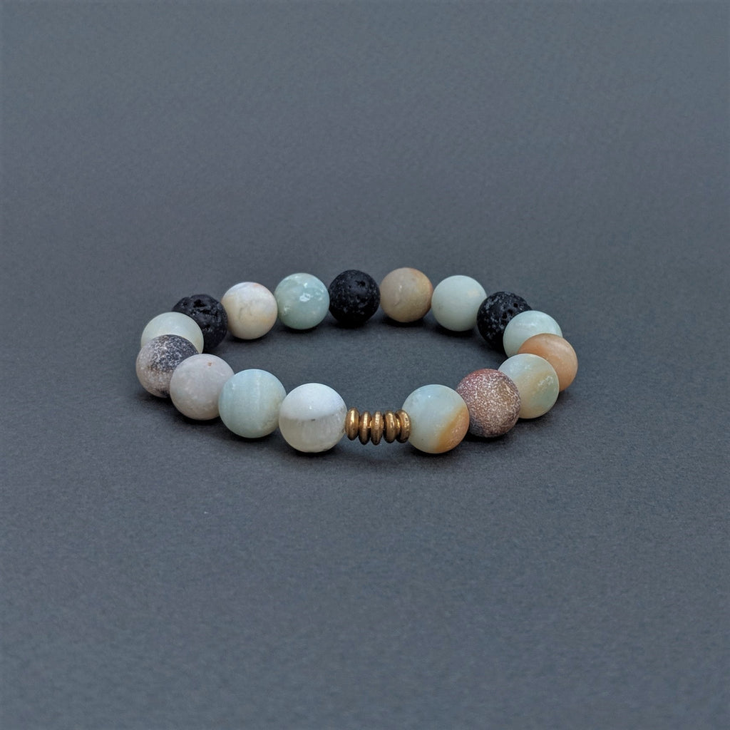 Artisan-Crafted Amazonite Bracelet