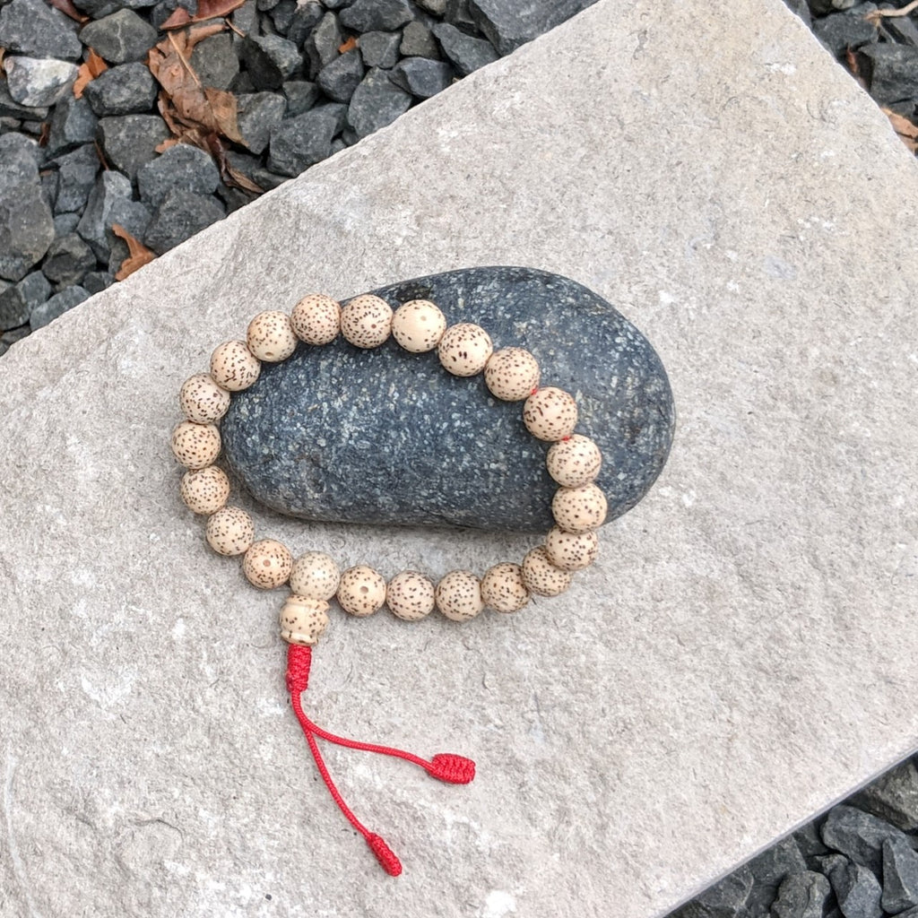 Lotus Seed Ajdustable Mala Bracelet