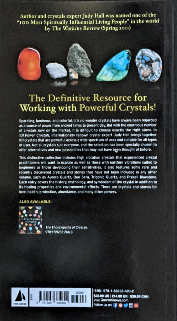101 Power Crystals - The Ultimate Guide to Magical Crystals, Gems, and Stones For Healing and Transformations