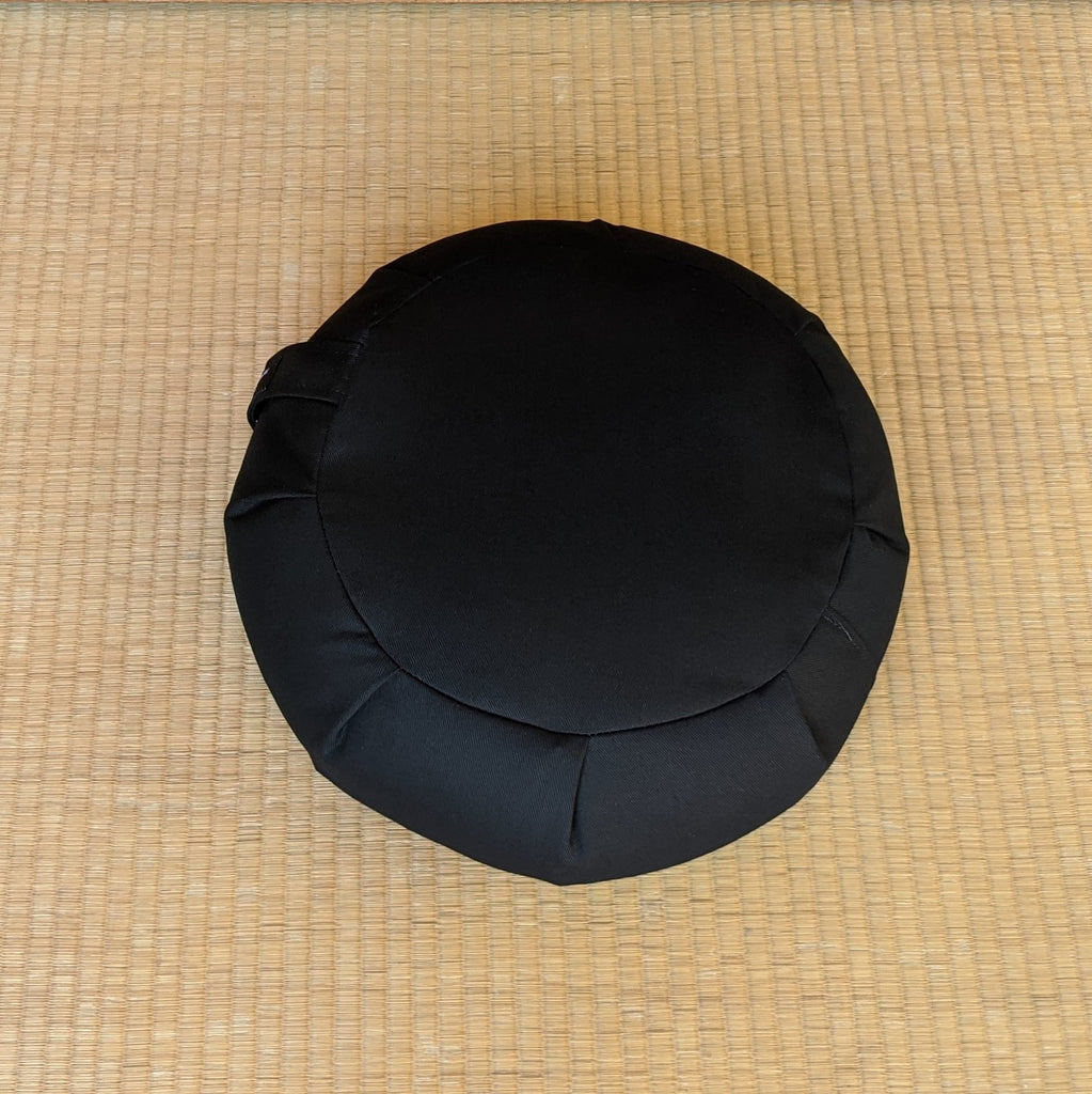 Black Round Premier Meditation Cushion