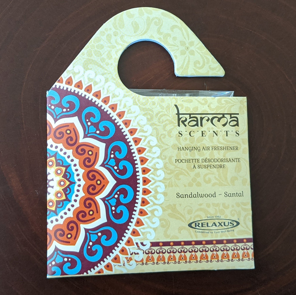 Karma Scents Sandalwood Hanging Air Freshener