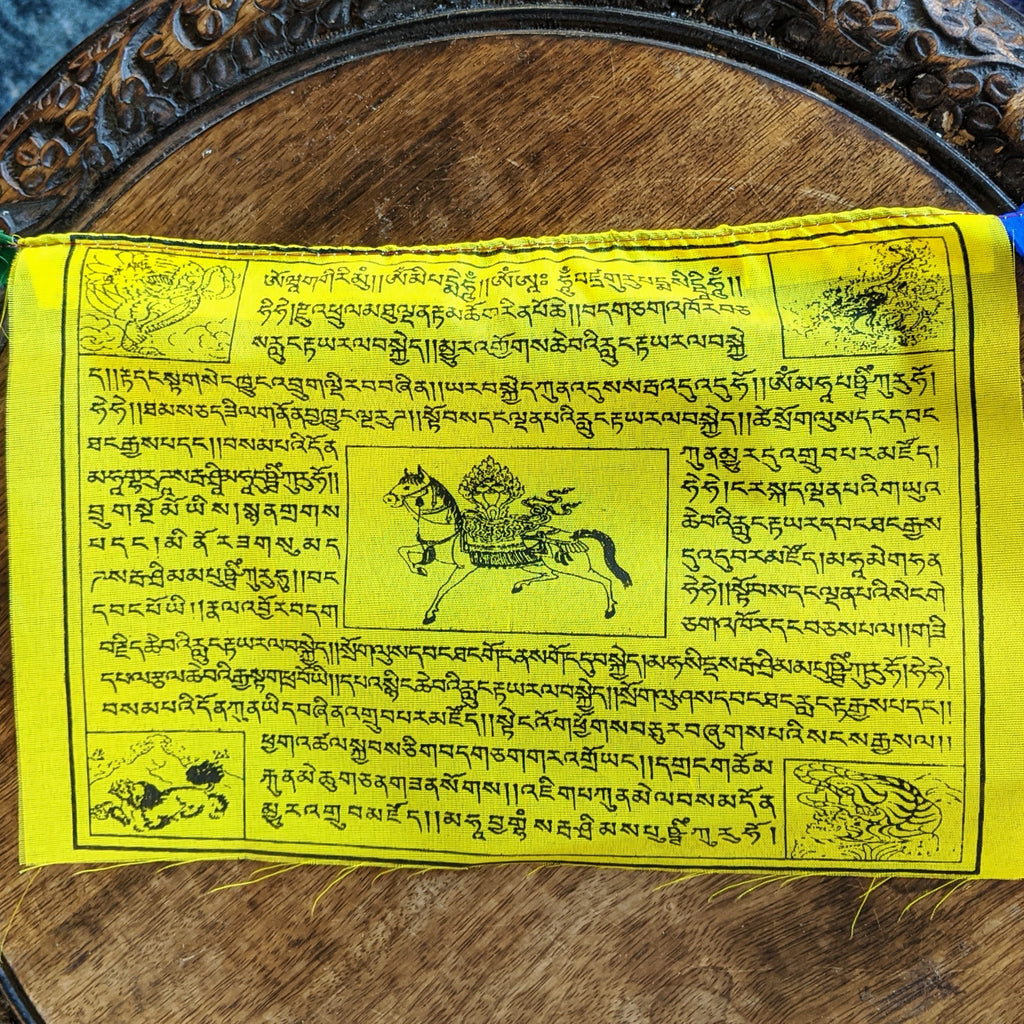 Traditional Tibetan Prayer Flags- Large