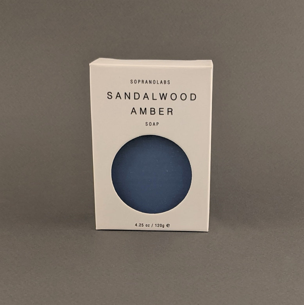 Sandalwood Amber Vegan Soap