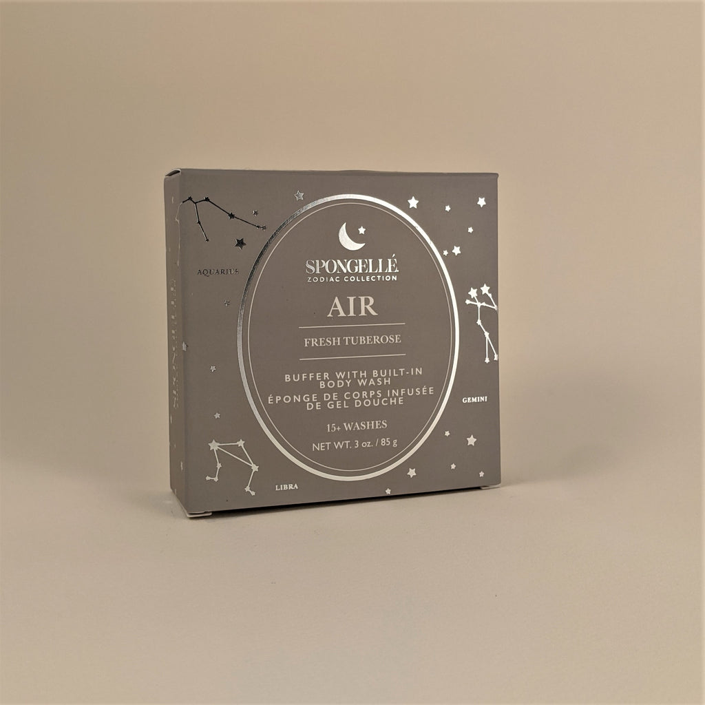 "Zodiac Collection-  ""Air"" Buffer with Built-In Body Wash"
