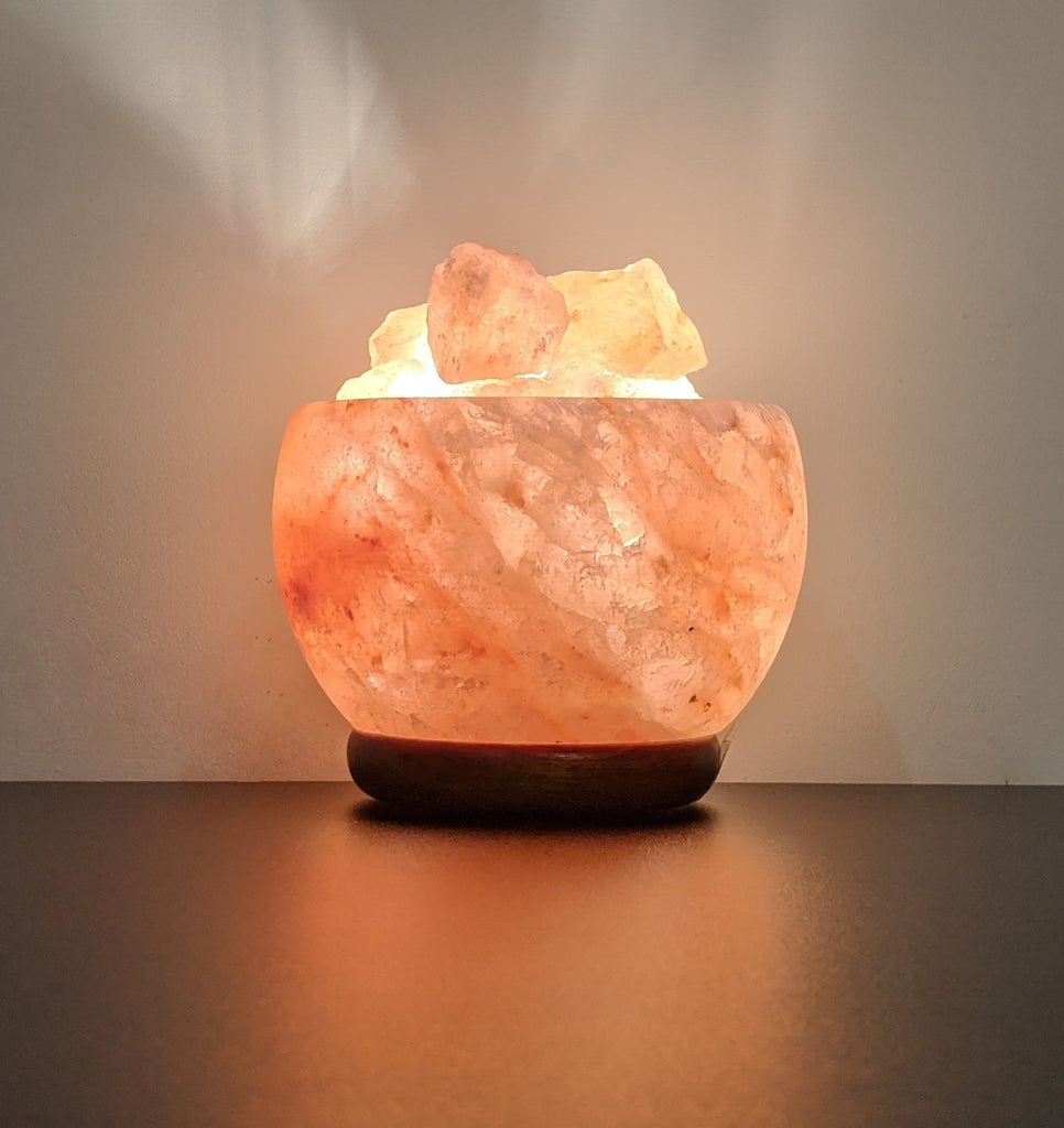 Himalayan Salt Lamp Bowl with Chunks