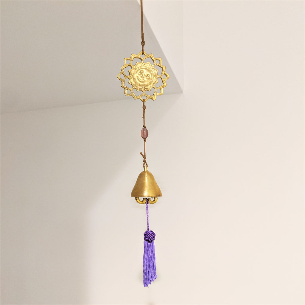 Chakra Hanging Chime- 7th (Crown)