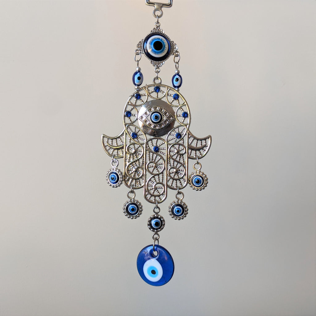 Hanging Evil Eye & Hand of Fatima